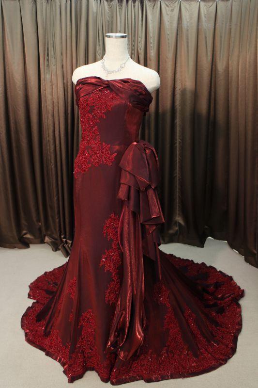 カラードレス 赤