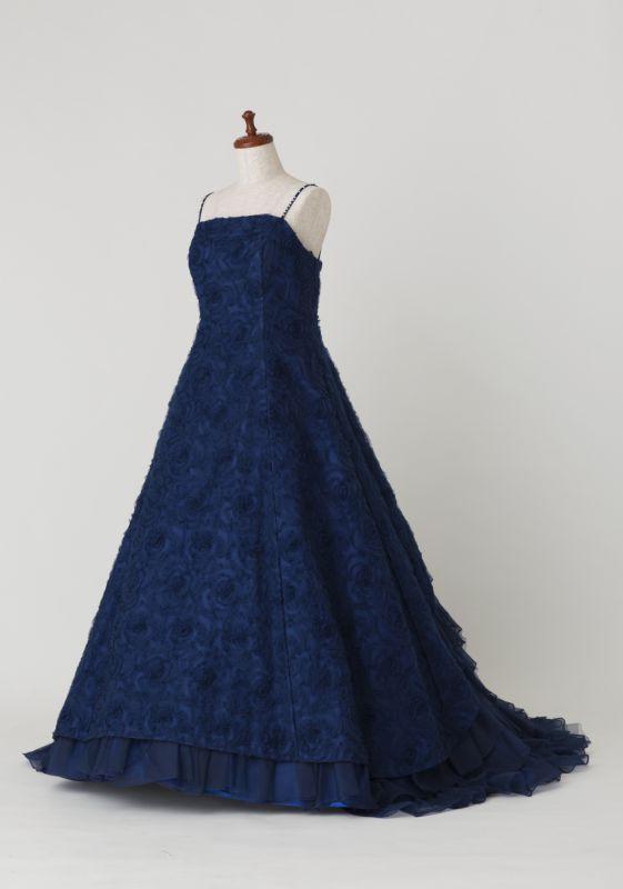 カラードレス紺