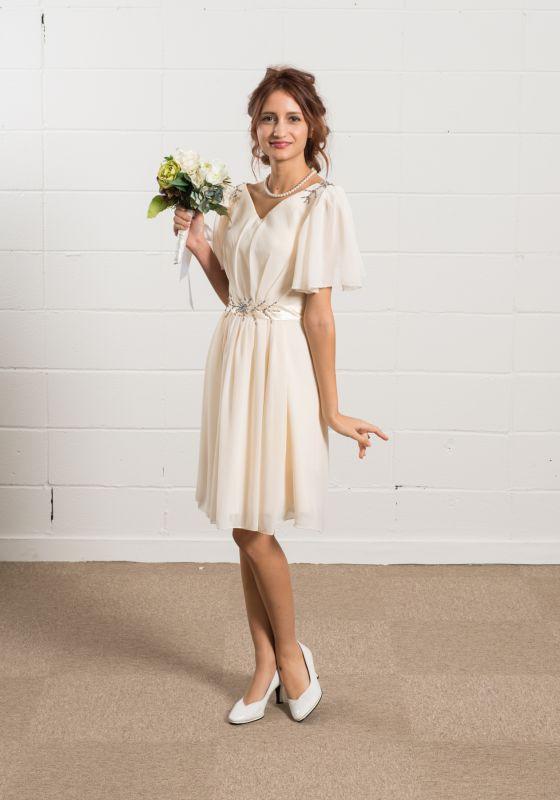 ウェディングドレス ミニ