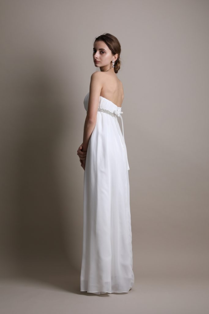 ウェディングドレス エンパイアライン