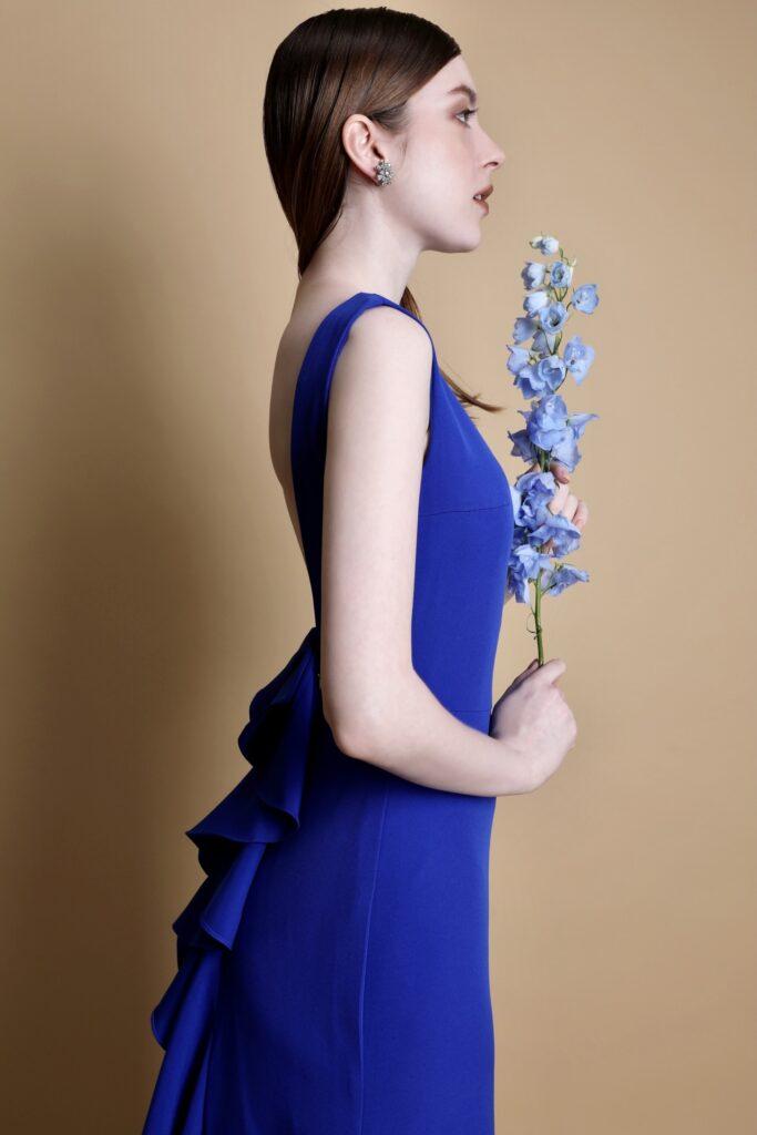 カラードレス 青